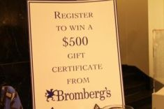 Bromberg's jewelry give away