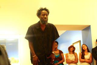 Spoken word artist Orron Kenyetta of Chicago, IL