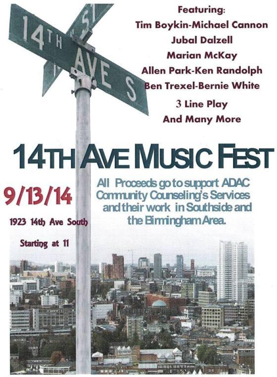 14th Ave Music fest